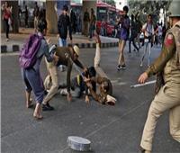 احتجاجات الهند تتجه نحو الفوضى واشتباكات مع الشرطة