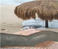 بالصور.. تعرف على حقيقة إلقاء الصرف الصحي بشاطئ الشاطبي في الإسكندرية