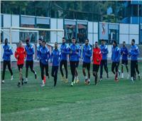 تدريبات استشفائية للاعبي الأهلي المشاركين في مباراة حرس الحدود