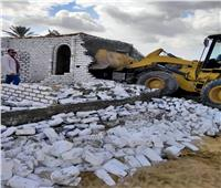 إزالة 20 حالة تعديات على الأراضي الزراعية وأملاك الدولة