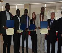 «الزراعة» تحتفل بتدريب 46 مبعوثا من 23 دولة