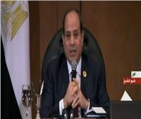 فيديو| السيسي: خطة ضخمة لرفع الإهمال عن البحيرات المصرية