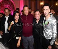 صور| الليثي وشاهيناز يُشعلان زفاف «محمد وإسراء»