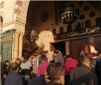 فيديو  انهيار أسرة الكاتب الراحل محمود صلاح في جنازته