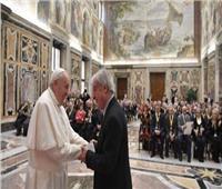 البابا فرنسيس يستقبل أعضاء الجمعية الوطنية للعمال المسنين