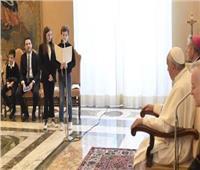 البابا فرنسيس يستقبل فتيان وفتيات العمل الكاثوليكي في إيطاليا
