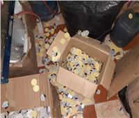 ضبط مصنع بالخانكة يقوم بتصنيع مستحضرات التجميل من مواد منتهية الصلاحية