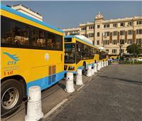 ننشر الصور الأولى للدفعة الثانية من «أتوبيسات الغاز الطبيعي» بالقاهرة