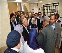خلال جولتها ببورسعيد| وزيرة الصحة توجه بالحفاظ على نظافة مستشفى الحياة بورفؤاد