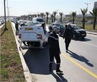مصرع 22 شخصًا وإصابة 1045 آخرين في حوادث مرورية بالجزائر خلال أسبوع