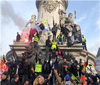صور| تظاهرات حاشدة في فرنسا مع استمرار إضراب وسائل النقل