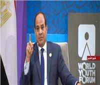 فيديو| السيسي: «ربنا منع سقوط مصر»