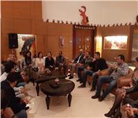 صور  وفد «تنسيقية الأحزاب» يلتقي أعضاء «التحالف الليبرالي العربي»