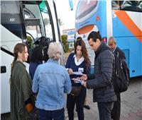 على متنها 800 سائح..  وصول ثالث الرحلات السياحيةمن اليونان لميناء الإسكندرية