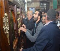 صور  الرفاعية تحتفل بمولد السلطان أبو العلا بالأذكار والقرآن الكريم