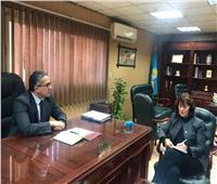 وزير الآثار يستقبل رئيسة الجمعية الدولية لعلماء المصريات بالزمالك