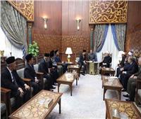 رئيس وزراء ولاية جوهور بماليزيا: الأزهر رائد نشر الثقافة الإسلامية الصحيحة حول العالم