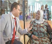 حوار| وزيرة العمل الأوغندية: منتدى شرم الشيخ نجاح كبير للرئيس السيسي