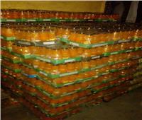 ضبط 5820 زجاجة عصير مجهولة المصدر قبل بيعها للمواطنين بأسيوط