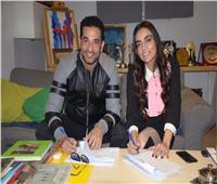 عمرو سعد يتعاقد مع سارة الطباخ على إدارة أعماله