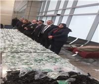 ضبط محاولة تهريب عدد من بوردات الريسيفر ومستلزماتها بمطار القاهرة