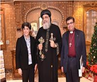 البابا تواضروسيستقبل الأمين العام لمجلس كنائس الشرق الأوسط