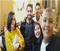 صور| نجم «ذا فويس كيدز» يحتفل بعيد ميلاده.. ويوجه رسالة لـ تامر حسني