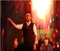 صور| تامر عاشور ومصطفى حجاج ومسار إجباري في حفل الجامعة البريطانية
