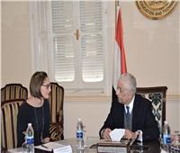 وزير التربية والتعليم يلتقى بعثة الوكالة الأمريكية للتنمية الدولية