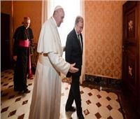 البابا فرنسيس يستقبل الأمين العام للأمم المتحدة