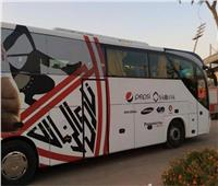 حافلة الزمالك تصل ستاد القاهرة استعدادًا لمواجهة سموحة بالدوري