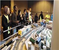 صور| فوج عربي وإفريقي في زيارة لمتحف السكة الحديد