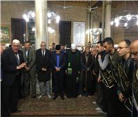 صور  الرفاعية تبدأ الاحتفال بمولد الحسين بـ«الحضرة»