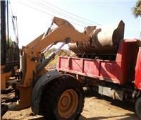 حملات للنظافة ورفع المخلفات بشوارع مركز بني مزار بالمنيا