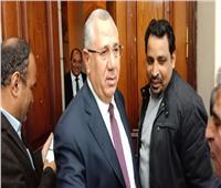 صور| وزير الزراعة الجديد «السيد القصير» يصل الوزارة