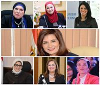 صور| 8 وزيرات ونائبتان.. 10 عناصر نسائية في حكومة مصطفى مدبولي
