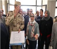 وزيرة الصحة توجه بإنشاء مستشفى سابقة التجهيز لخدمة أهالي دهب