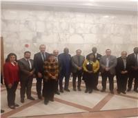 لجنة التعاون الإفريقي باتحاد الصناعات تناقش مبادرات يقدمها «أفريكسم بنك» للقطاع الخاص