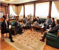رئيس هيئة قناة السويس يستقبل وفد شركة «AKABARS» الروسية لبناء السفن