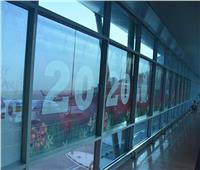 صور| المطارات تتزين لاستقبال رأس السنة