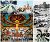 باب الحديد  حكاية أول «محطة سكة حديد» في مصر.. وسر الملك الفرعوني