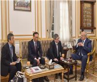الخشت يستقبل رئيس جامعة كوكوجاكو إن اليابانية لبحث سبل التعاون