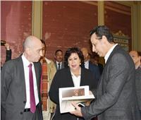 وزيرة الثقافة تفتتح المعرض الرابع من سلسة كنوز متاحفنا