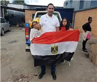 صور| قافلة مساعدات من المصريين بالخارج إلى ليسوتو