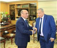 وزير العدل يستقبل رئيس هيئة النيابة الإدارية