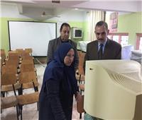 محافظ كفر الشيخ يتفقد المدارس لمتابعة الامتحانات العملية