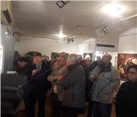 صور| افتتاح معرض «رحلتي» للفنان راغب إسكندر