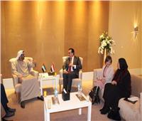 وزير التعليم العالي يبحث مع نظيره الإماراتي تعزيز التعاون الثنائي