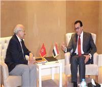وزير التعليم العالي يبحث مع نظيره المغربي سبل تعزيز التعاون الثقافي