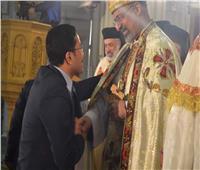 المصريين الأحرار يشارك الكاثوليك احتفالات الميلاد المجيدة